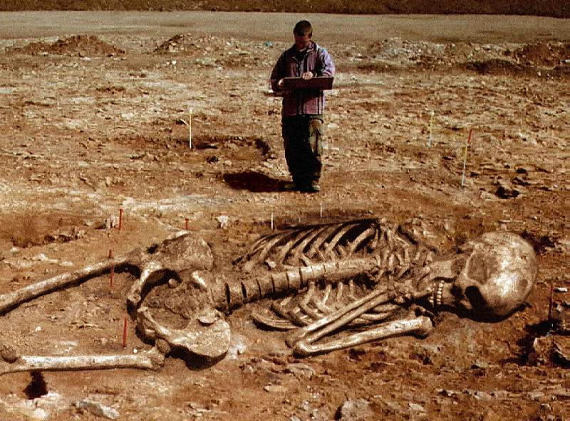 Giant Human Skeletons Found in Greece