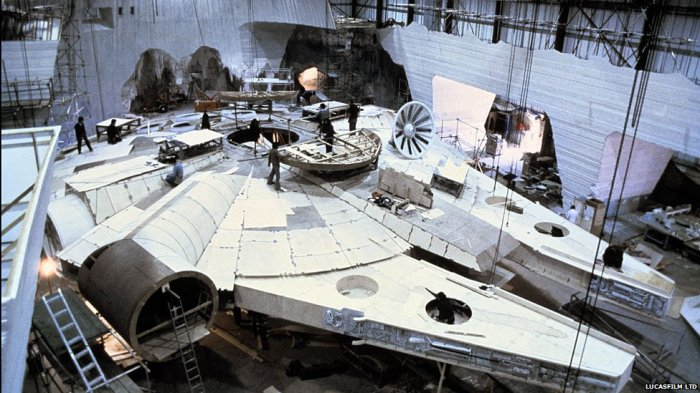 Building full sized millennium falcons and enterprises tg daily