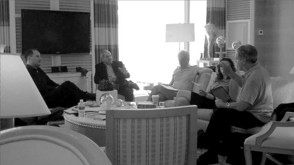 Atlas III script meeting